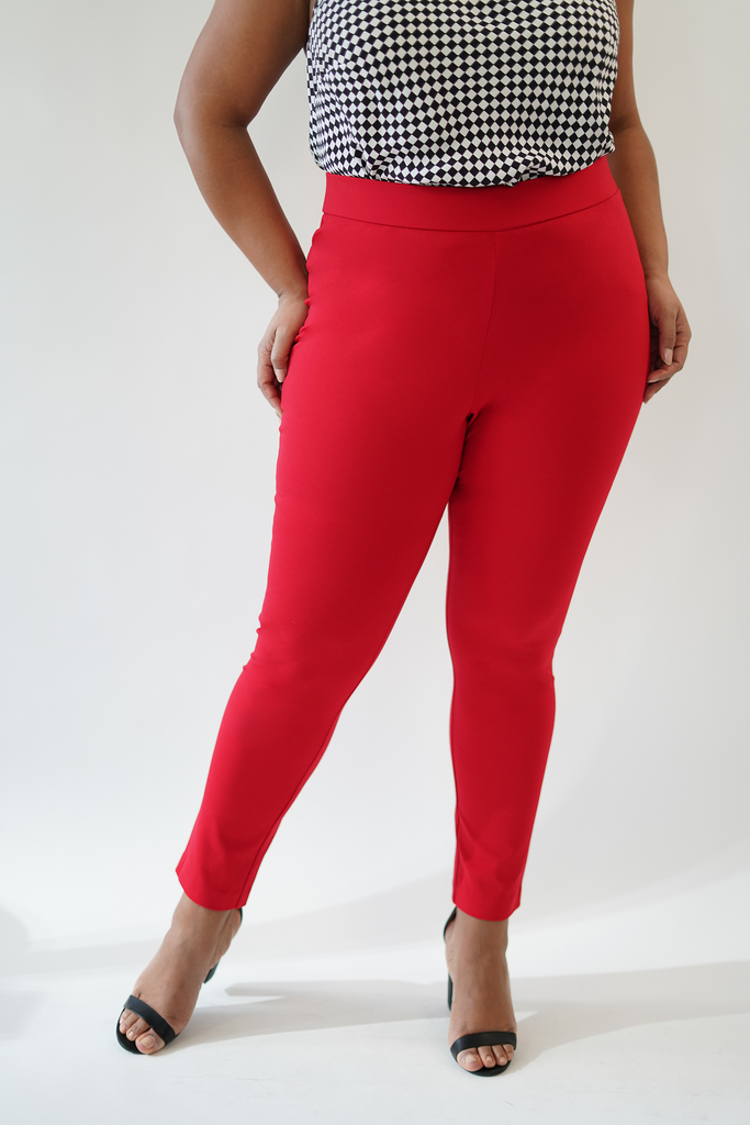 The Red Compression Slim Pant