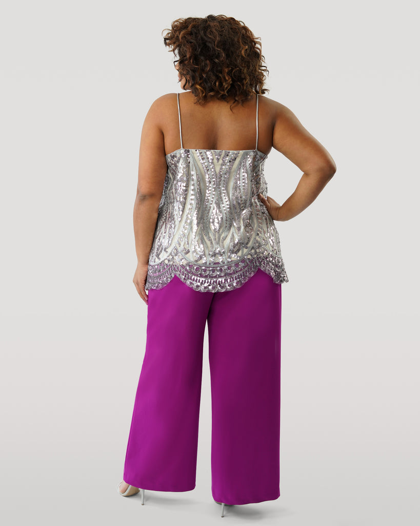 V Neck Sequin Tank - **30% off with discount code Winter30**