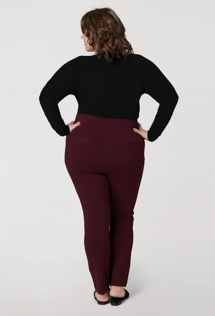 The Wine Compression Slim Pant - **Additional 20% off with discount code Winter20**