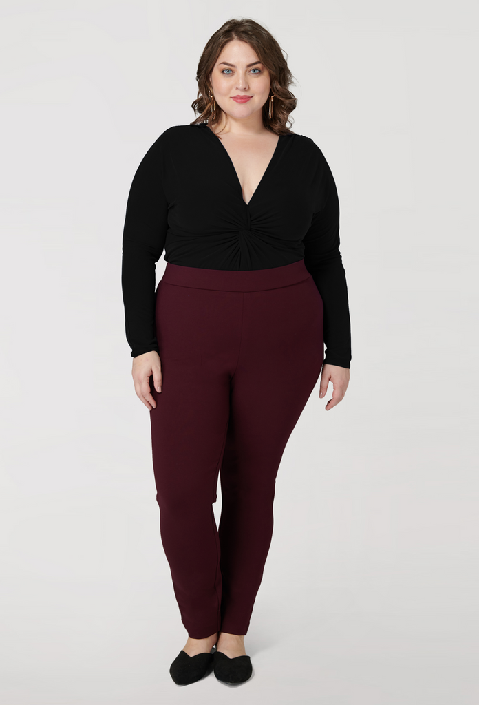 The Wine Compression Slim Pant