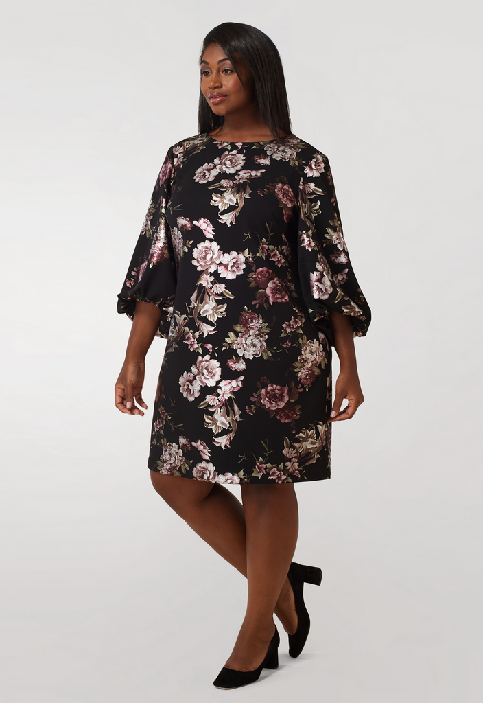 Crepe Back Scuba Dress - **Additional 30% off with discount code Winter30**