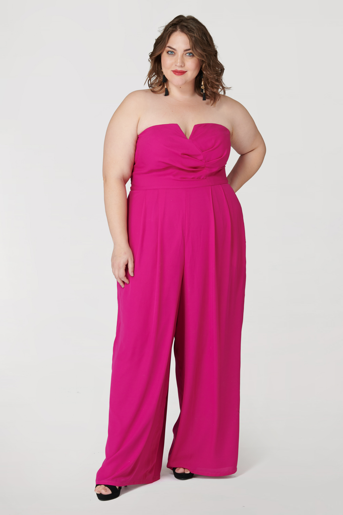 The Fuchsia Magic Jumpsuit