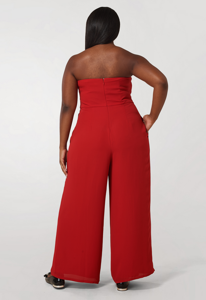 The Red Magic Jumpsuit