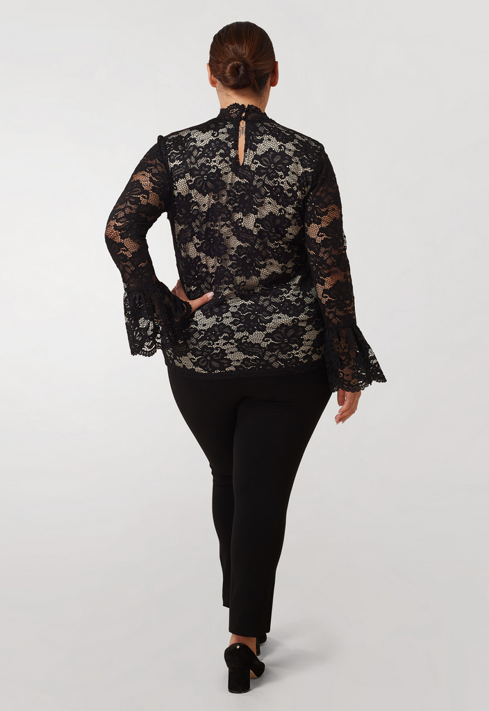 Stretch Lace Blouse - **Additional 30% off with discount code Winter30**