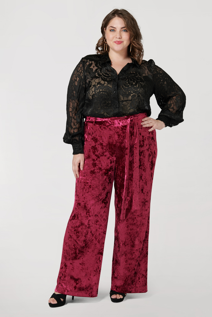 The Velvet Pant - **30% off with discount code Winter30**