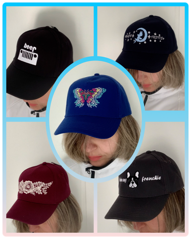casquettes brodees personnalisees
