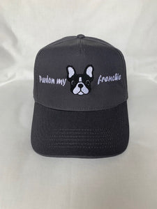 "Casquette ""Pardon my frenchie"" personnalisable"