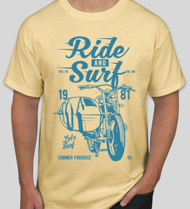 Ride And Surf Unisex T-Shirt