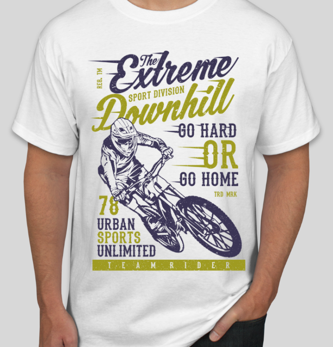 The Extreme Downhill Unisex T-Shirt