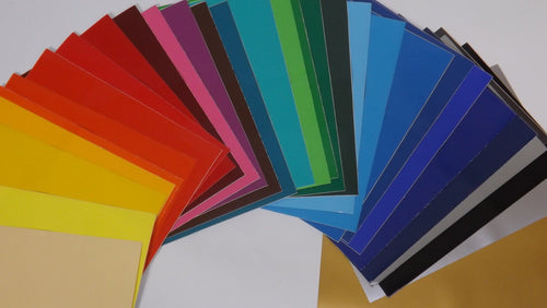 A4 Sheets Of Self Adhesive Craft Vinyl