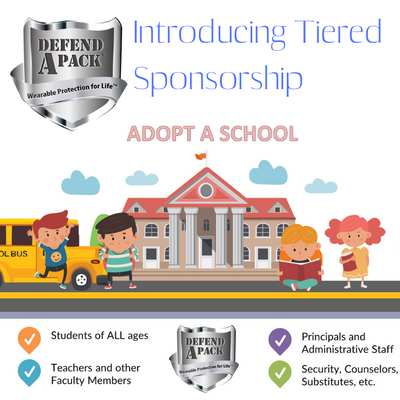 DefendAPack® Introduces Tiered School Sponsorship