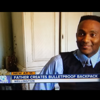 WPTV Story - Wellington Father Creates Bulletproof Backpack for Daughter