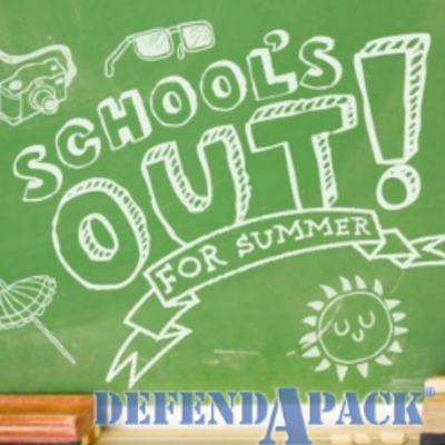 School Is Out, Perfect Time for Your DefendAPack Purchase