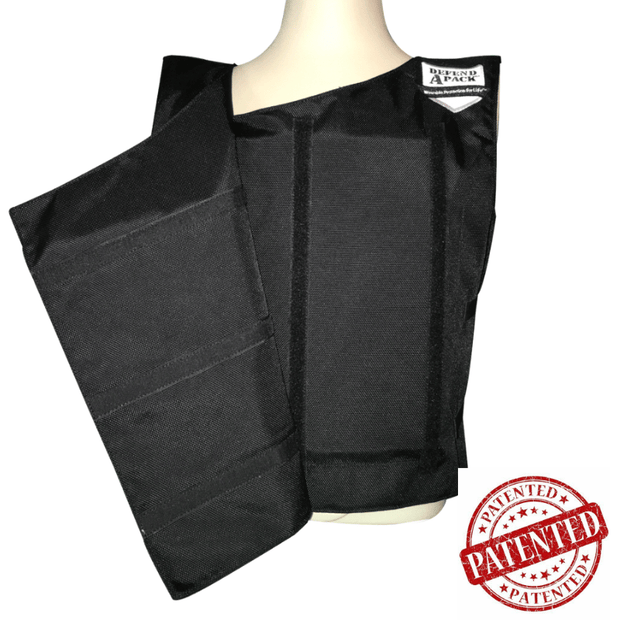 DefendApackGear.com Bulletproof Armored Protection Products Bulletproof Double-Plated Vest NIJ Level 3 (AR-15 TESTED) Bulletproof Protection