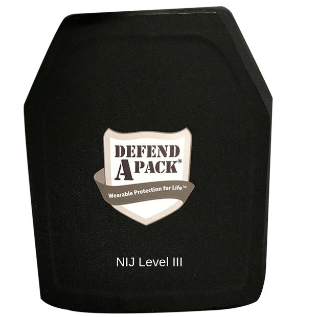DefendApackGear.com Bulletproof Armored Protection Products NIJ Level 3 Replacement Hard PANEL ONLY Bulletproof Protection