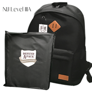 DefendApackGear.com Bulletproof Armored Protection Products One Size / IIIA Bulletproof Stand-Alone Backpack NIJ LEVEL 3A or LEVEL 3 Bulletproof Protection