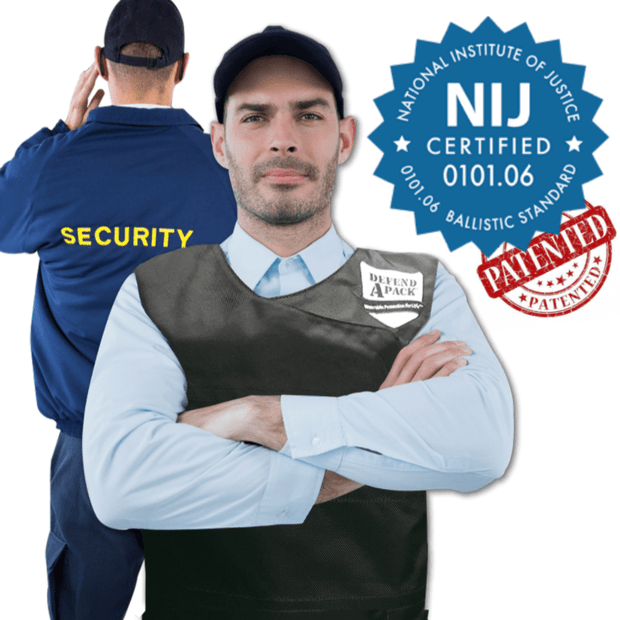 DefendApackGear.com Bulletproof Armored Protection Products Small Bulletproof Double-Plated Vest NIJ Level 3 (AR-15 TESTED) Bulletproof Protection