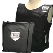 DefendApackGear.com Bulletproof Armored Protection Products Small / IIIA Bulletproof Double-Plated Vest NIJ LEVEL 3A (Handgun Tested) Bulletproof Protection
