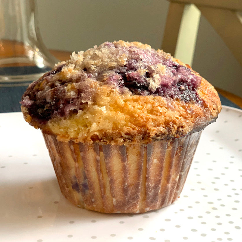 Blueberry Lemon Crunch Muffin - Jumbo