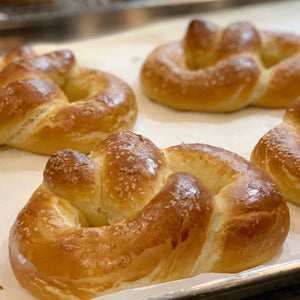 Garlic & Herb Soft Pretzels - Large