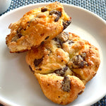 Chocolate Chunk Scones<br>