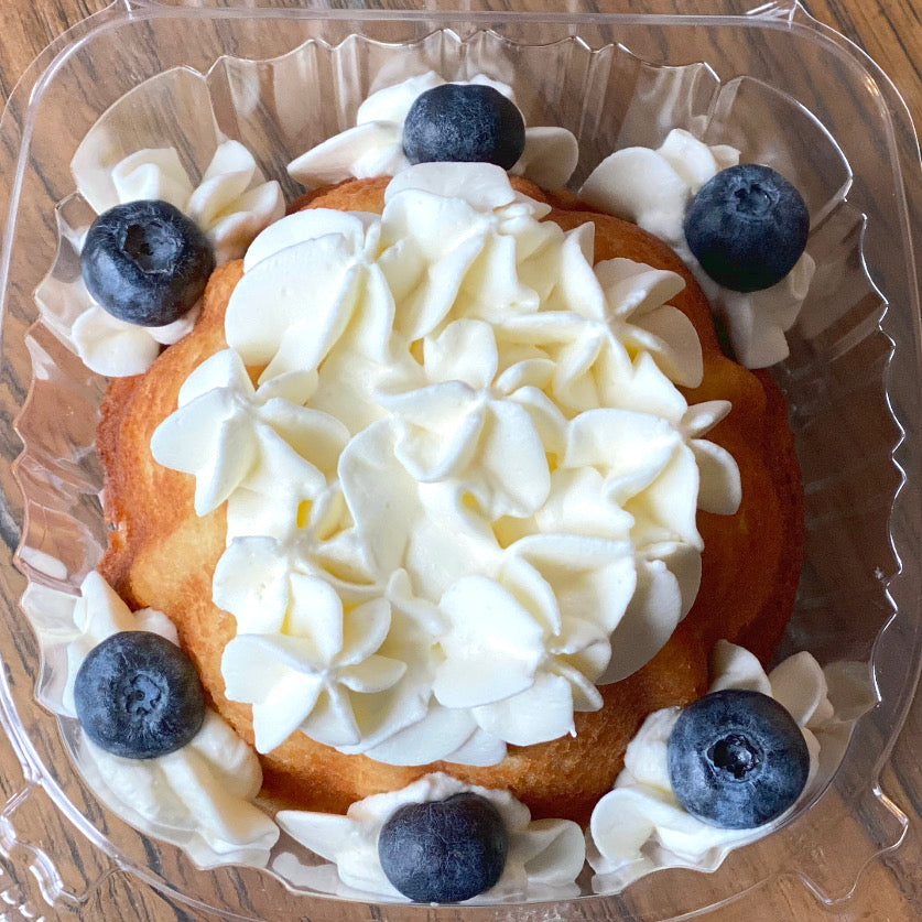 Cream Filled Vanilla Bundt Cake<br>Sugar Free & Keto Friendly<br>