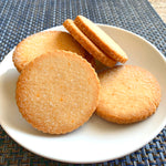 Lemon Shortbread Cookies - Sugar Free & Keto Friendly