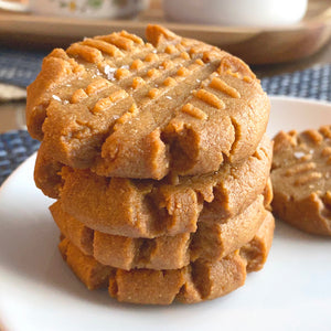 Peanut Butter Cookies - Sugar Free & Keto Friendly