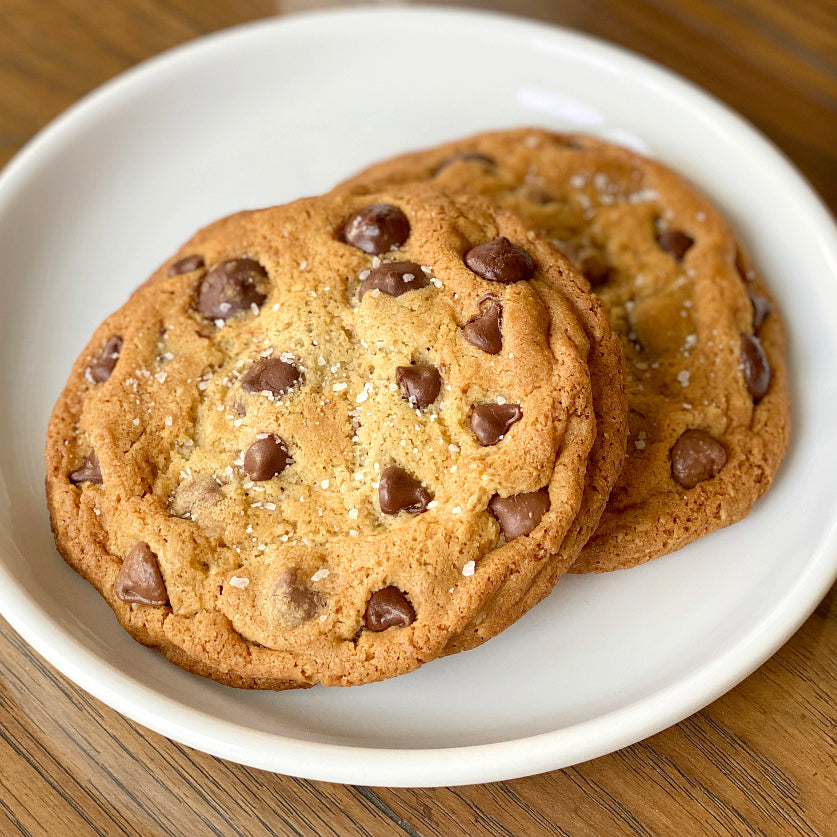 Salted Triple Chocolate Chip Cookies - Large
