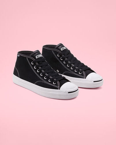 Converse Jack Purcell Mid *- Blk/white