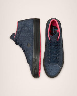 Converse Heart Of The City One Star Pro - (Obsidian/Hyper Pink/Black)
