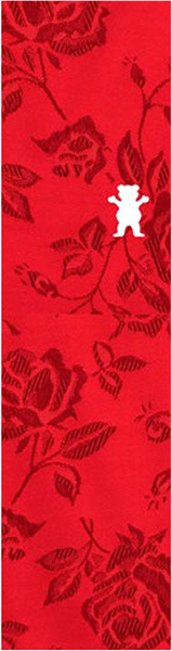 Grizzly Rose Thread OG Bear Grip Tape - (Red)