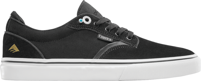 Emerica Dickson (Black/White/Gold)