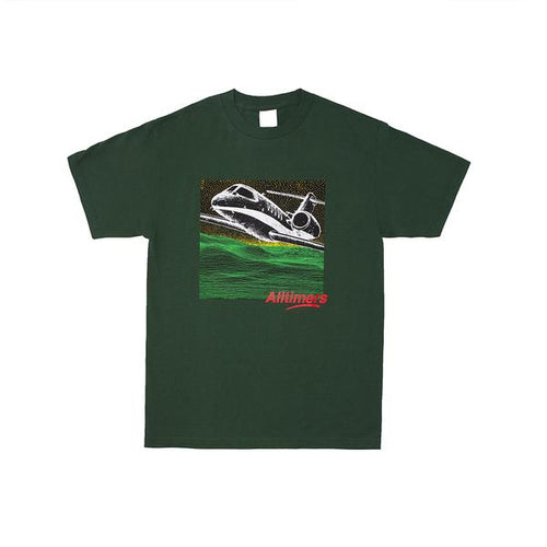 FIRST CLASS TEE FOREST GREEN - Alltimers