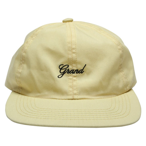 Grand Collection Script Cap - Light Yellow