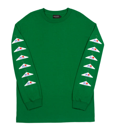 Grand Collection Dry Cleaning  L/S Green