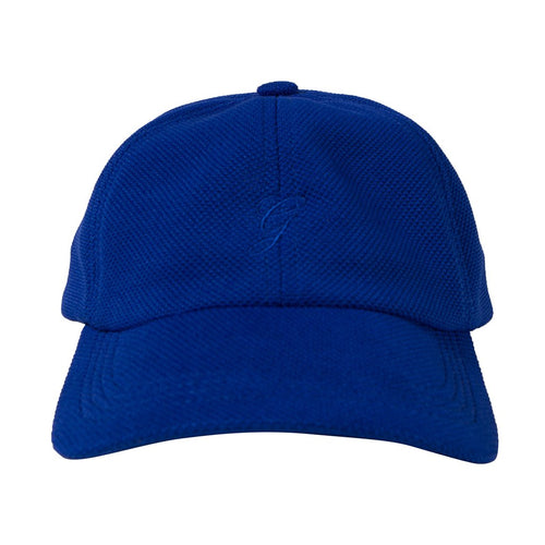 Grand Collection G Script Hat - Royal Blue