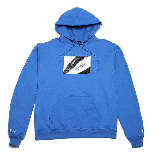 Grand Collection x Labor Hoodie  -Royal Blue