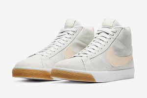 Nike SB Zoom Blazer Mid- (Photon Dust/Light Cream-White/Poussiere De Photon)