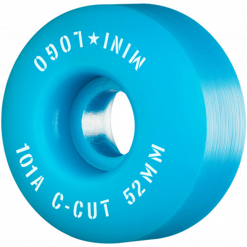 Mini Logo Colored Wheels 52mm 101a