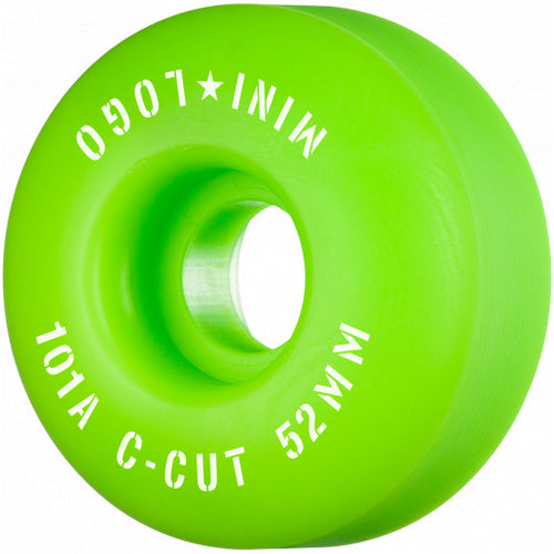Mini Logo Wheels C-Cut 52mm-53mm 101a