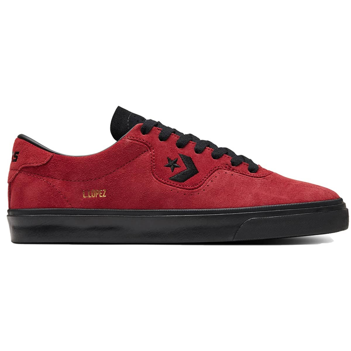 Converse Louie Lopez Pro OX - (Back Alley Brick/Black/Black)