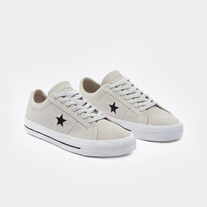Converse One Star Pro OX - (Pale Putty/White/White)