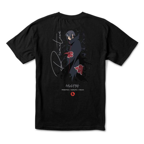 Primitive x Naruto Crows Tee - Black