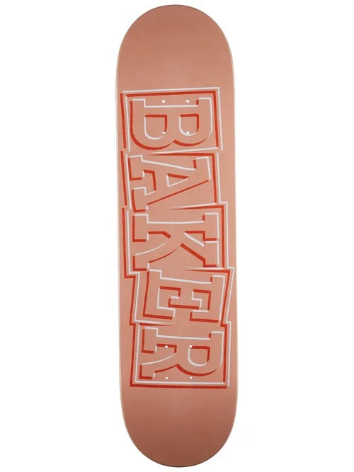 Baker Hawk Ribbon Peach Deck- 8.0