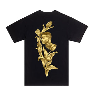 Fucking Awesome Flowers Tee (Black)