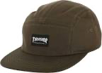 Thrasher Mag Logo 5 Panel Hat Army