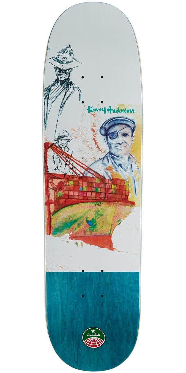 Chocolate Anderson Stevedore Deck