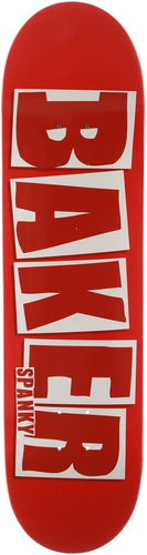 Baker Spanky Brand Name Red Deck- 8.25