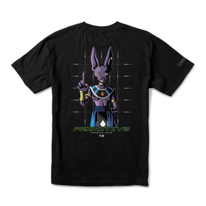 Primitive X Dragon Ball Super Shadow Beerus Black Tee